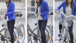 Pippa Middleton utilise Vélib' qui en profite pour se faire