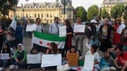 Des grèves de la faim à Paris en soutien aux