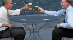 Obama tient promesse et donne la recette de sa bière au