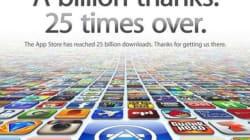 Sur l'App Store, 400.000 applications n'auraient jamais été