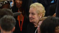 Madeleine Albright :