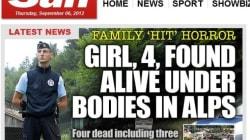 La tuerie en Haute-Savoie fait la Une de tous les médias