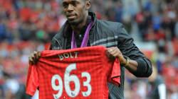 Usain Bolt footballeur à Manchester, ça se