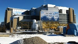 South Calgary Health Campus Partially