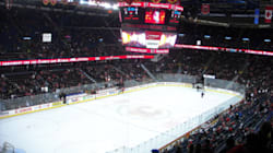WATCH: Ice Freeze And Paint Dry At The Saddledome (Time-Lapse