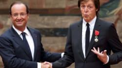 McCartney décoré par