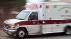 Incendie à Montréal: deux blessés