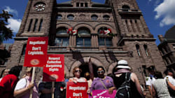 The Ontario Teacher's Union Is Holding Students