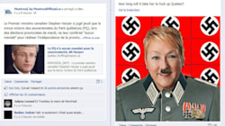 LOOK: Incoming Quebec Premier Portrayed As Hitler On
