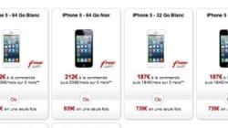 iPhone 5: quel opérateur est le moins