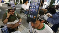 Arriva l'iPhone5, tutti in