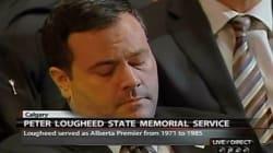 Did Jason Kenney Fall Asleep At Lougheed