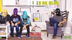 Ikea a supprimé les Pussy Riot de son