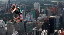 Le acrobazie in volo dal