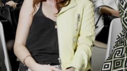 Kristen Stewart à Paris sur fond de