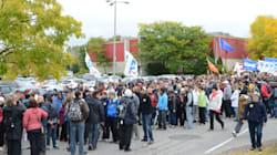 Bécancour: manifestation en faveur de la centrale