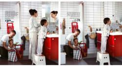 Ikea supprime les femmes de son catalogue