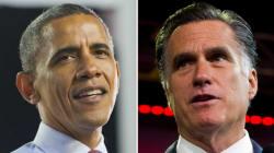 Les routes d'Obama et de Romney se sont rarement croisées