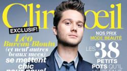 Léo Bureau-Blouin sur son 31 pour la couverture du Clin d'Oeil