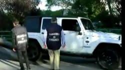 La villa e la Jeep sequestrati a