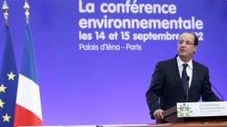 Conférence environnementale et hausse du prix de