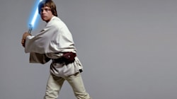 Luke Skywalker sabre Mitt