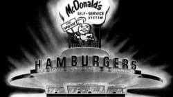 1948 : le Premier restaurant McDonald's en noir et