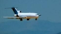 Así se estrella un Boeing 727