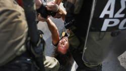 Manifestations en Grèce pour la venue de