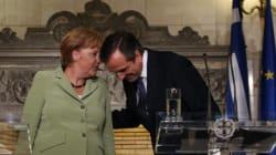 Samaras à Merkel: