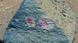Une roche inhabituelle découverte sur