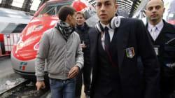 Milano, c'è la nazionale in stazione (FOTO,