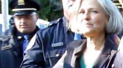 La candidate écolo arrêtée lors du débat