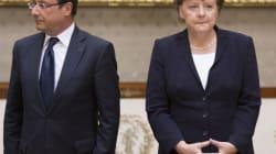 Veto sur les budgets nationaux: le duel Hollande-Merkel tourne