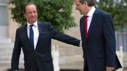 Hollande ira tester sa popularité en Grèce