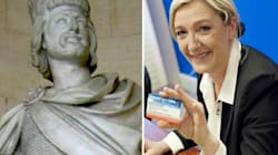 Quand Marine Le Pen défend Charles Martel (et le Bloc