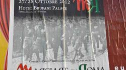 Dopo 90 anni la marcia su Roma riparte dallo stesso albergo di