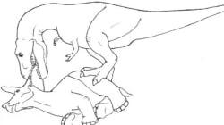 Comment manger un tricératops en 4