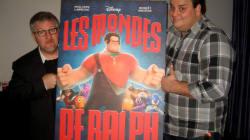 Les mondes de Ralph de Disney avec les voix de Philippe Laprise et Benoît