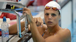 Laure Manaudou bat le record de France du 50m