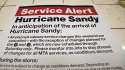 L'uragano Sandy fa paura, allertata la guardia