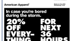 Is A Hurricane Really The Time To Be Offering A Clothing