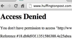 Le HuffPost est de retour... après l'ouragan