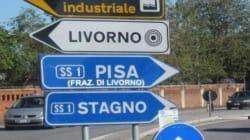 I derby d'Italia riaccesi dalle nuove province disegnate dal Governo Monti. In Toscana il cartello: