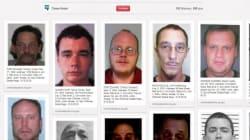 Les délinquants sexuels épinglés sur Pinterest pour