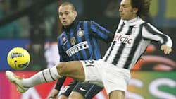 Torino contro Milano: Juve-Inter vista dai tifosi vip Linus-Lerner (FOTO,