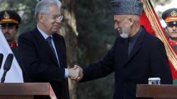 Monti vola a sorpresa in Afghanistan: incontro con i