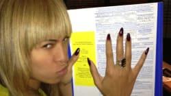 Beyoncé a voté... voyez la