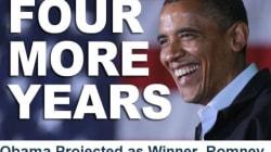 Obama annonce sa réélection sur