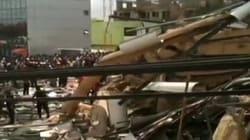 Effondrement d'un centre commercial au